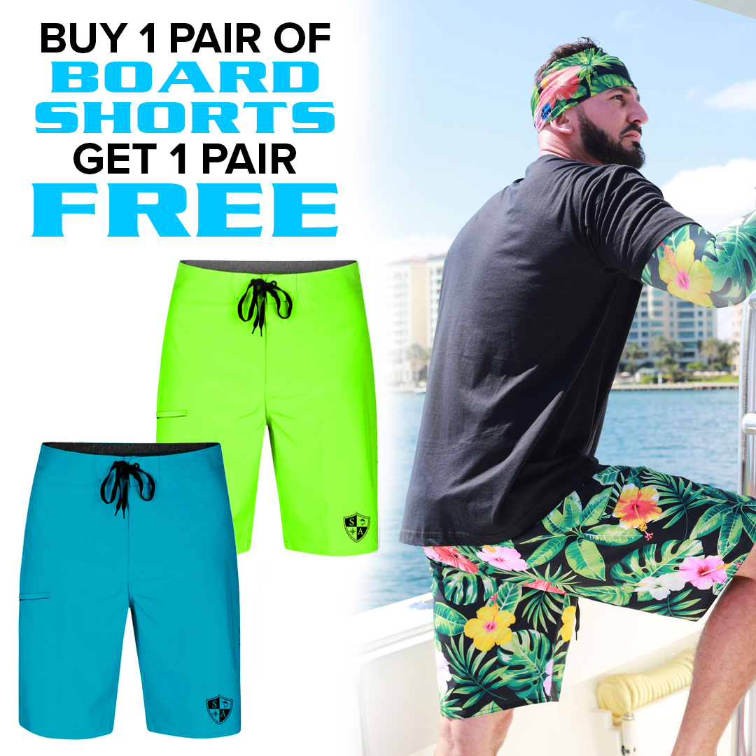 907f86019ca Buy 1 Pair of Board Shorts, Get 1 Free | Pick Your Pack in 2019 ...