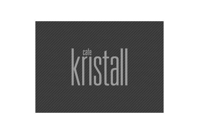 Cafe Kristall's logo #MarsDesign