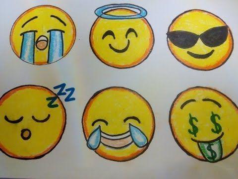 Como Dibujar Un Emoji Paso A Paso 2 How To Draw An Emoji 2 Youtube Como Dibujar Un Emoji Como Hacer Dibujos Emojis Dibujos