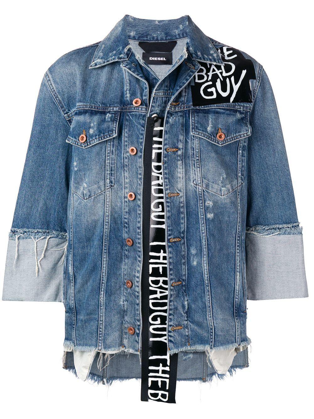 a3b15192 DIESEL DIESEL BAD GUY DENIM JACKET - BLUE. #diesel #cloth | Diesel ...