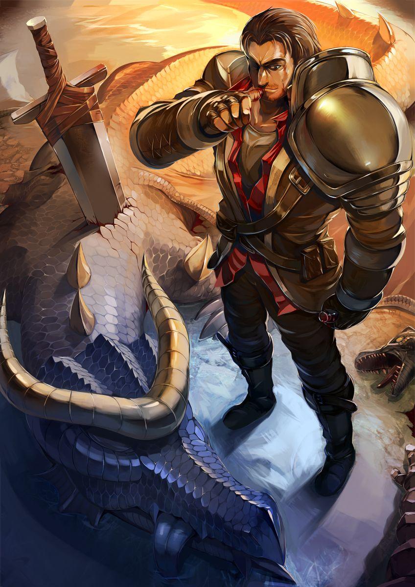 Rugged Garen Has Slain The Dragon By Yefta03 Deviantart Com On