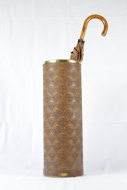 Antique French Umbrella Stand Vintage Holder Etsy Antiques