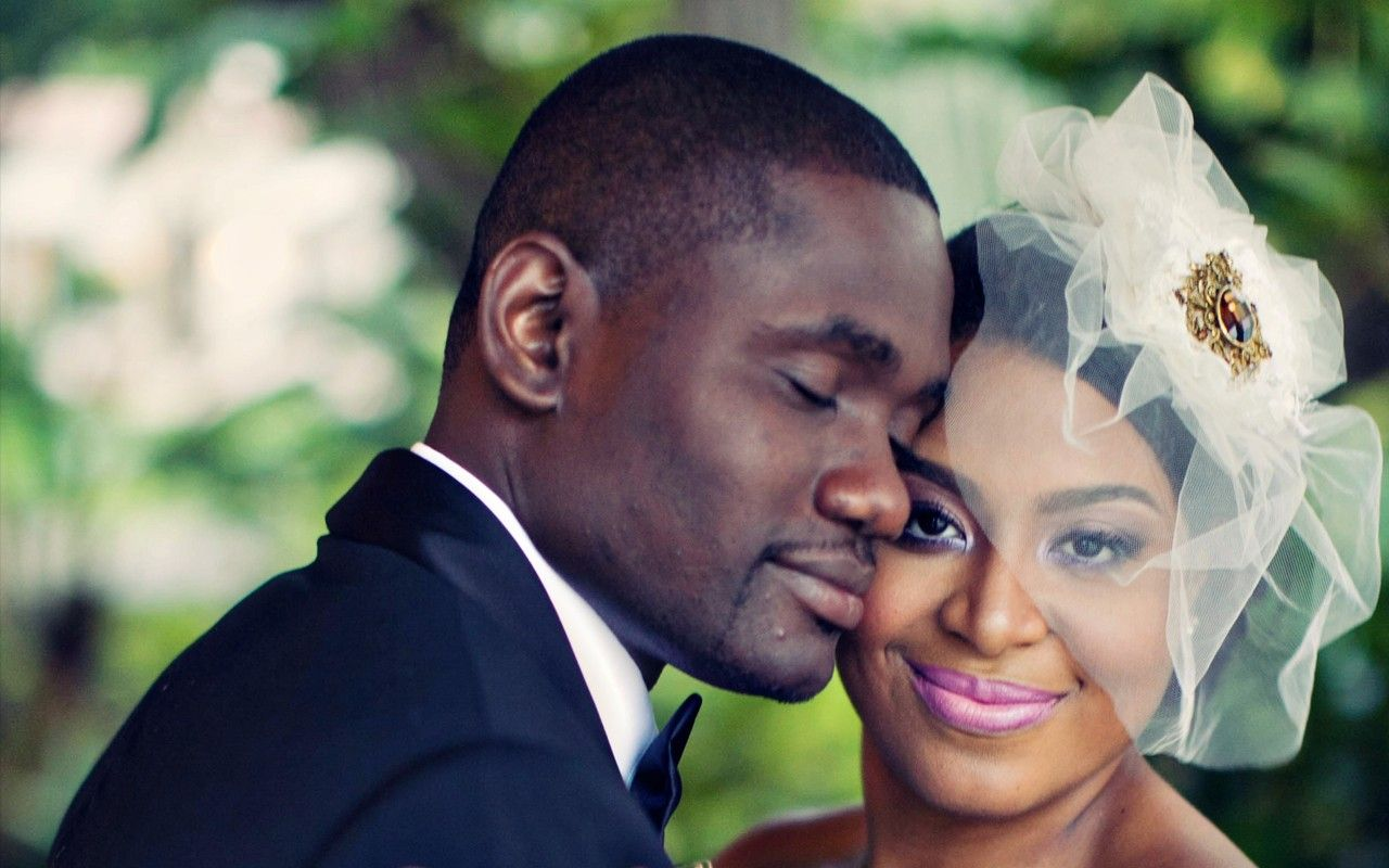 Black Wedding Style The Moltimers Love Heats Up Miami