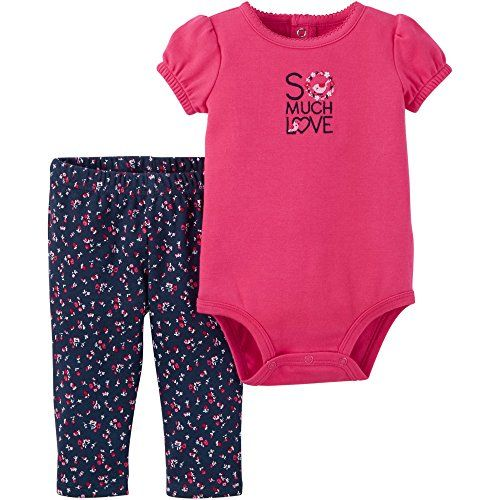 50d7f640549d Child of Mine by Carters Baby Girl Preemie Clothes Bodysuit and ...