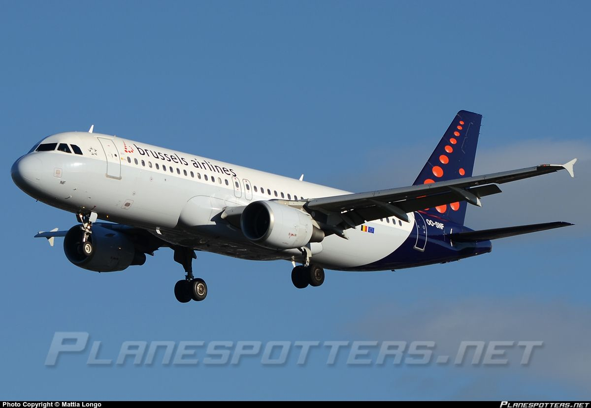 OO-SNF Brussels Airlines Airbus A320-214