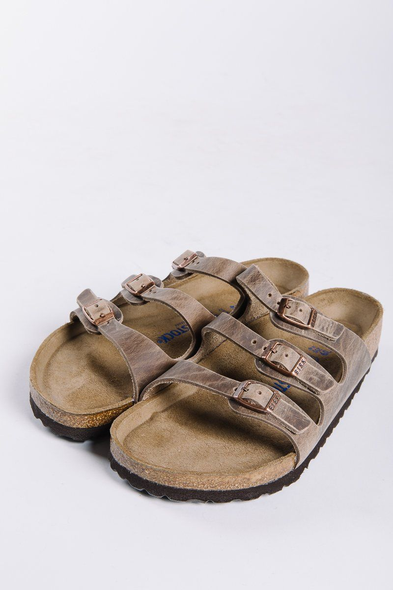 f13b8898cde0 BIRKENSTOCK  Florida Softbed Oiled Leather in Tobacco