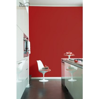 salsa red dulux paint - available now at homebase in store and