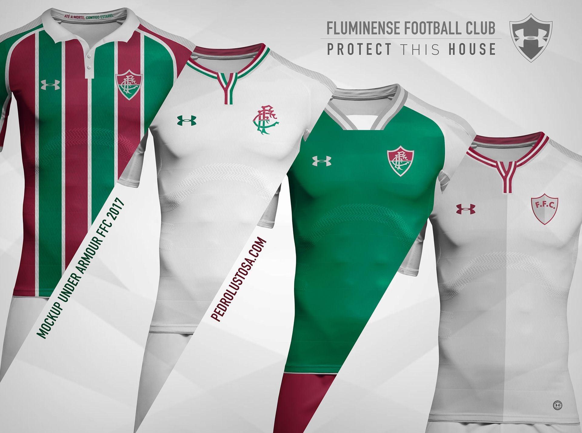 Designer tricolor faz mockups de uniformes do Fluminense para a Under Armour   a0e81c75e992d