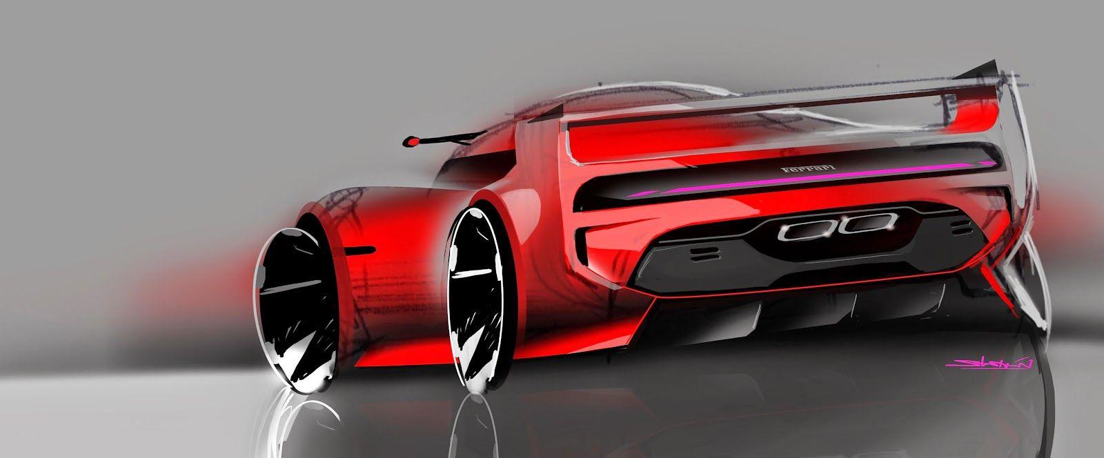 Marcell sebestyen concept car dessin voiture design industriel et design - Croquis voiture ...