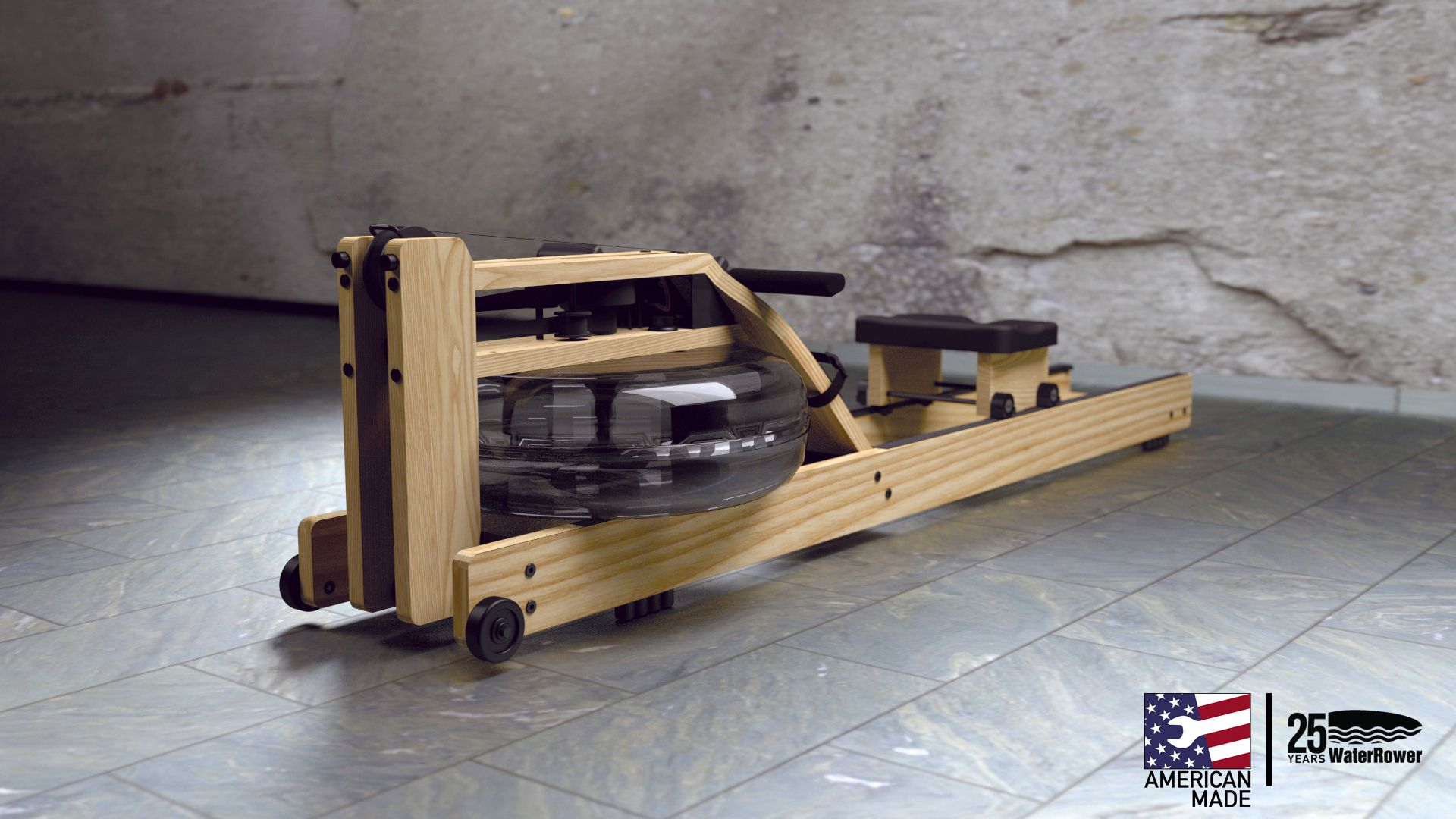 WaterRower - Natural #waterrower #fitness #exercise #cardio