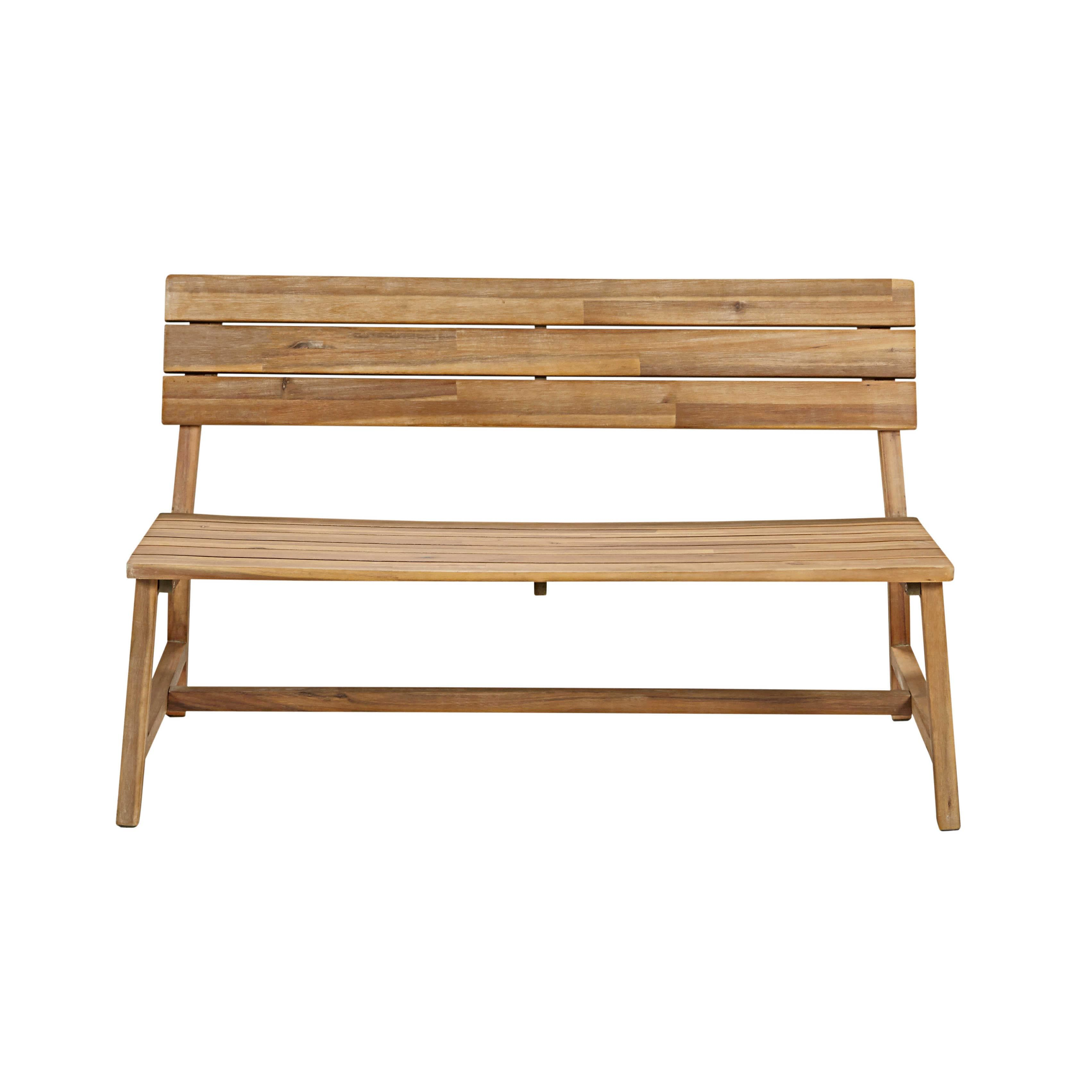 Gartenbank 2-Sitzer aus massivem Akazienholz Jetzt bestellen unter ...