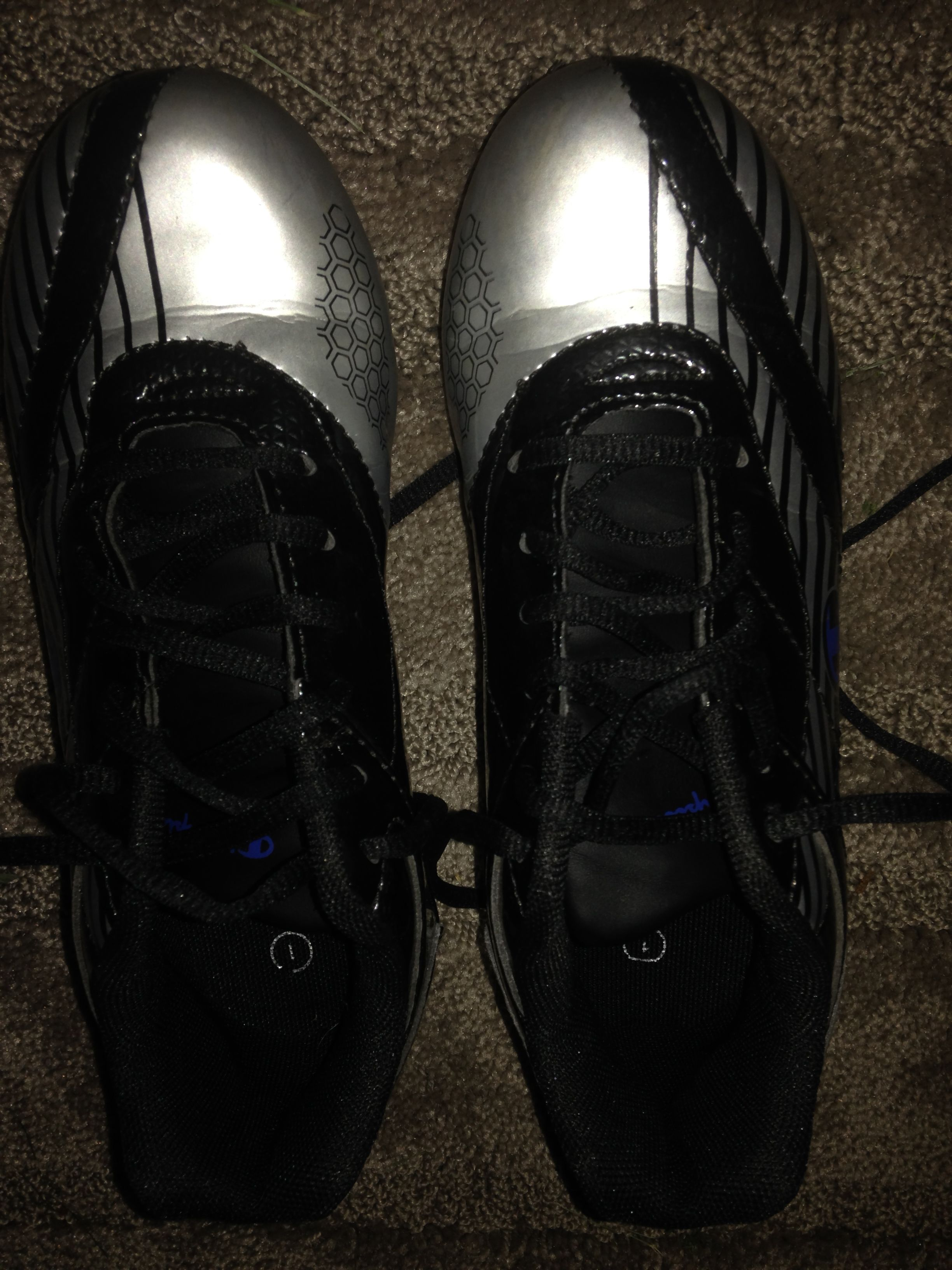 Champion Soccer Cleats A. Payless - $17