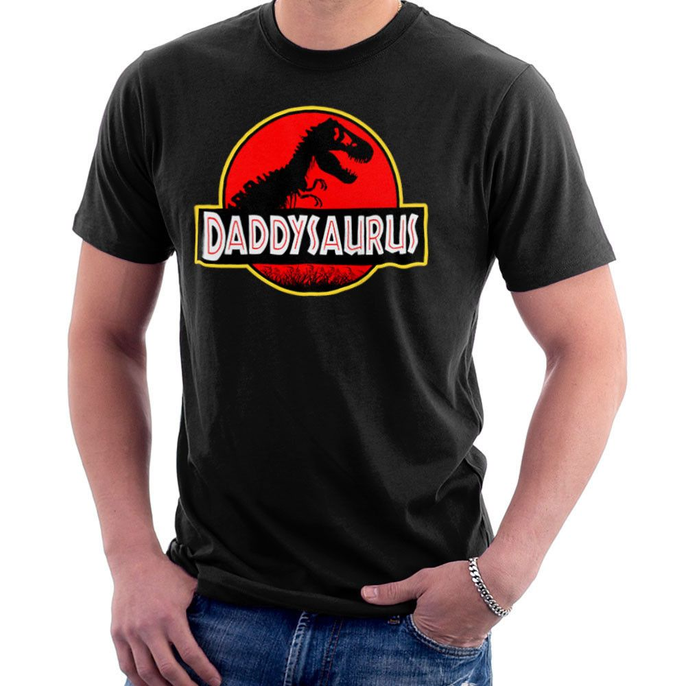 Fathers Day Collection Daddysaurus Jurassic Park Men S T Shirt Jurassic Park Party Baby Shower Shirts Dinosaur Baby Shower