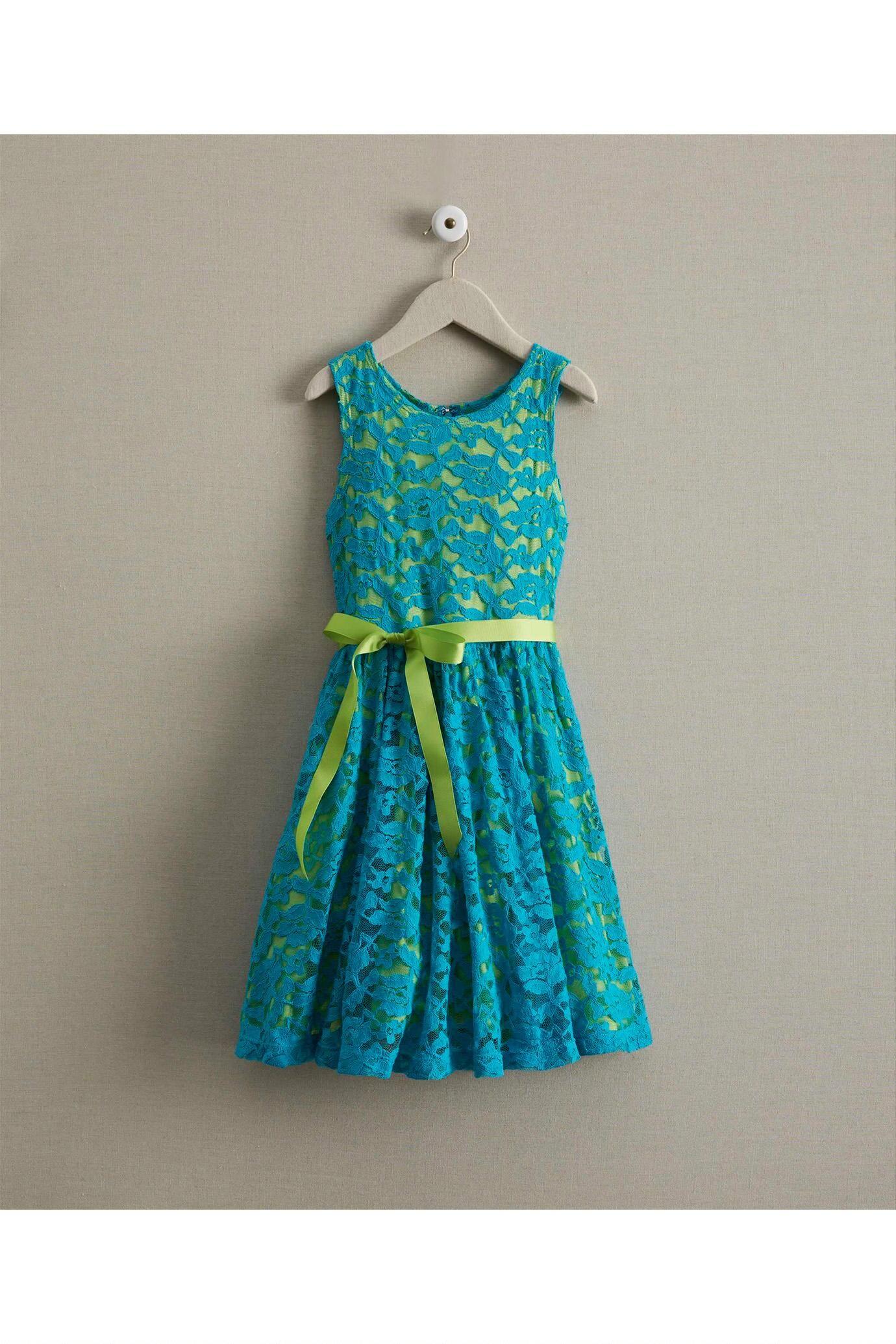 Girls Turquoise Lace Dress: #Chasingfireflies $29.97 | American Girl ...