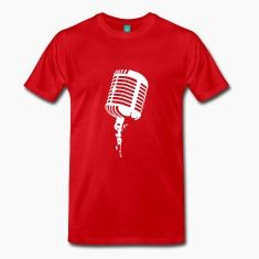 Perfect for the musician, DJ, newscaster or radio personality. Background for the band or group or comedian, or any type of announcer. Standard Mic design.