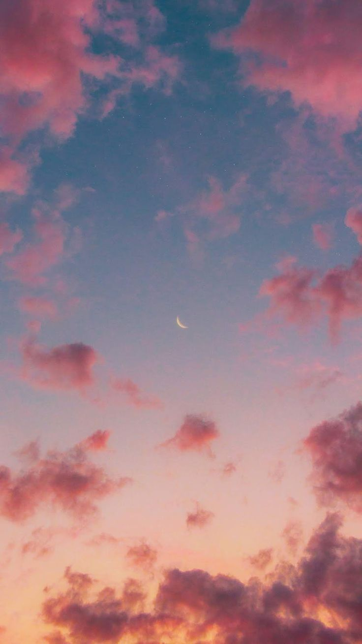 Pink sky by matialonsor #wallpaper #iphone #android #background