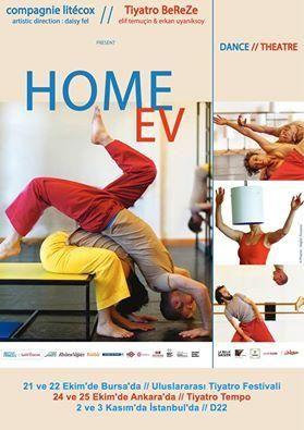 2-3 Kasım'da #İstanbul'da @TiyatroBereze'nin ''Ev'' oyunu: ''Beş dansçı ışıklı, renkli, portatif bir evde yaşıyor''  #istanlook