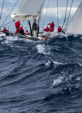 Day 3: PERINI NAVI P2  St Barths Bucket Regatta Day 3: PERINI NAVI P2 Photo: Carlo Borlenghi Protected by Copyright.