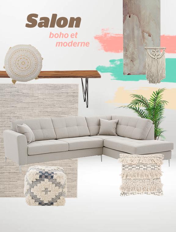 Vosessentielsbm Salon Boho Moderne In 2020 Sectional Couch Home Decor Decor