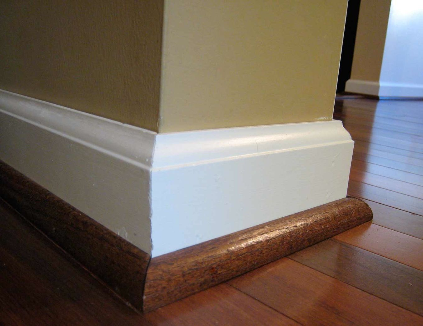 How to cut base molding around wall vent - Types Of Baseboard Molding 19470810