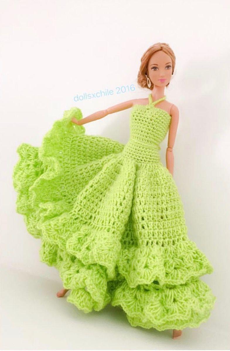 46.12.20.3 by: dollsxchile   Barbie/Doll Crochet/Knits! 4 ...