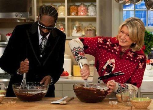 Martha Stewart + Snoop Dogg