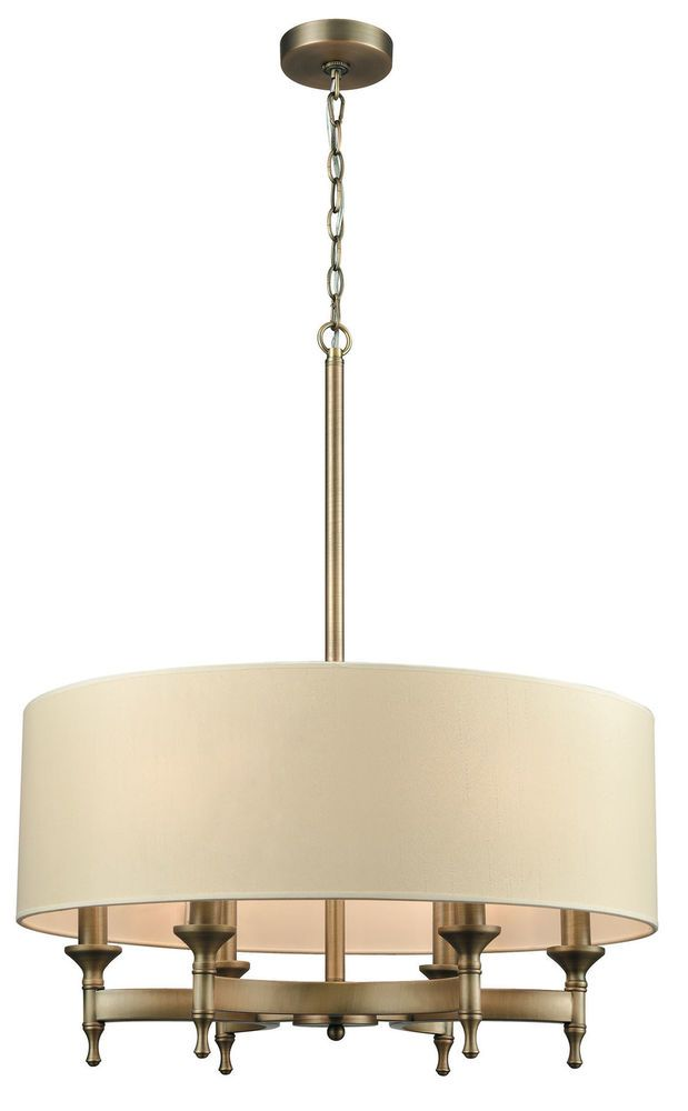 Darby home co shawna 6 light drum pendant