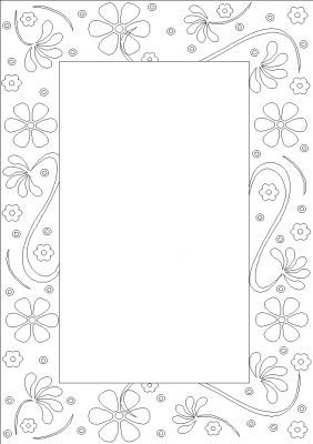 Gut gemocht coloriage Bordures | Borders and corners | Pinterest | Bordure  ZR66