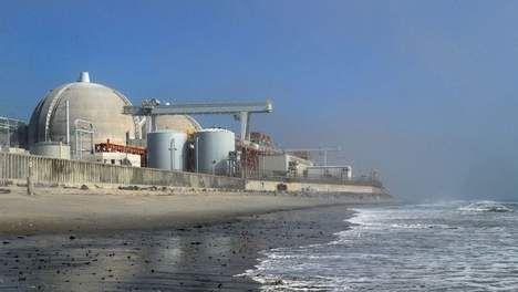 © AFP. Een kerncentrale in Californië.