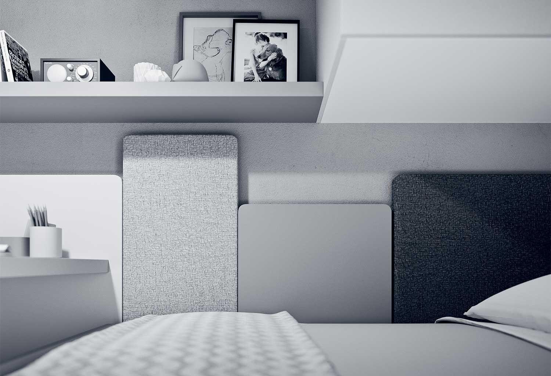 Pannelli modulari per testiera letto Wall Boiserie