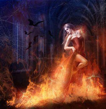 Fire:  Dancing in #fire.