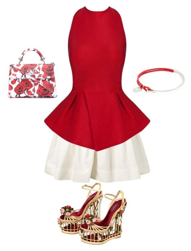 """Roses are Red"" by boho-betty-usa ❤ liked on Polyvore featuring Dolce&Gabbana, Marc Jacobs, Posh Girl, Philipp Plein and lovebohobetty"