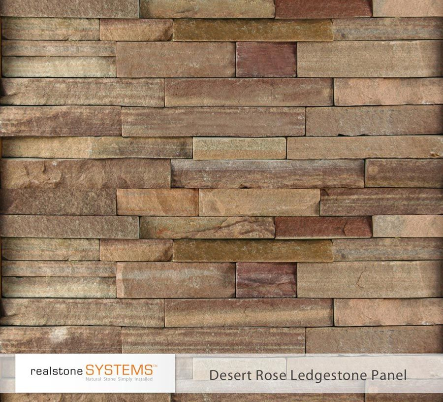 "Ledgestone Kitchen Backsplash: Our Ledgestone Stone Veneer Panels Offer A Rustic, ""rough"