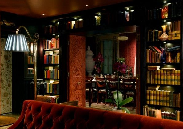 Moody Library Bar At Zetter Townhouse Via Right Bank With Images