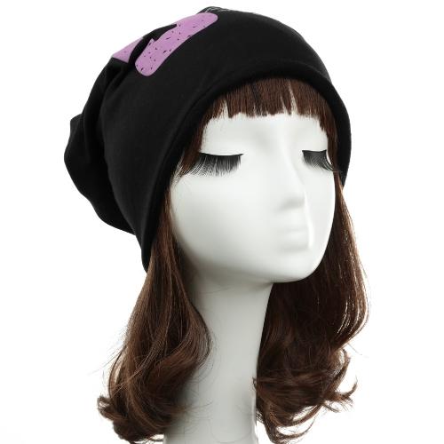 3.83$  Watch more here  - Unisex Women Men Beanie Hat Note Five Print Baggy Hip-Hop Cool Dance Cap Headwear