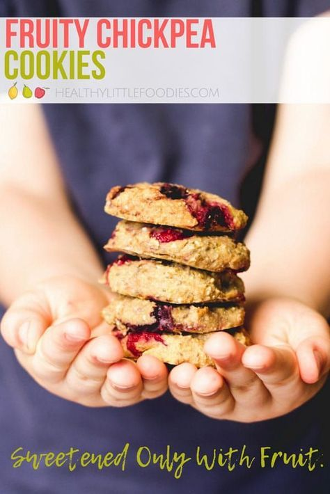 Fruity Chickpea Cookies - Healthy Little Foodies | Recipe ...