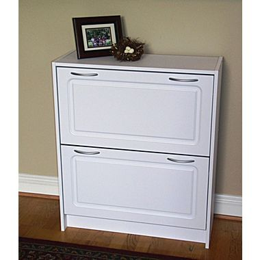 Shoe cabinet for foyer
