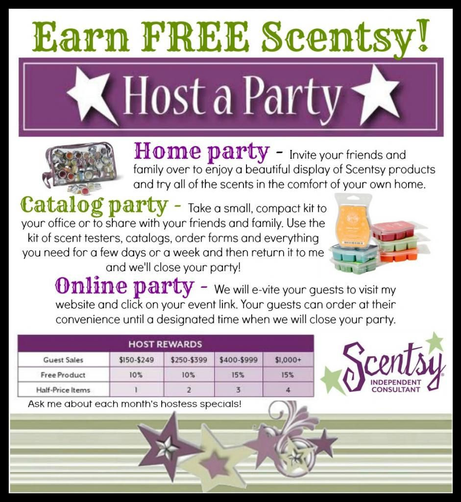 Faq About Hosting A Scentsy Party We Did This And Raised Funds For