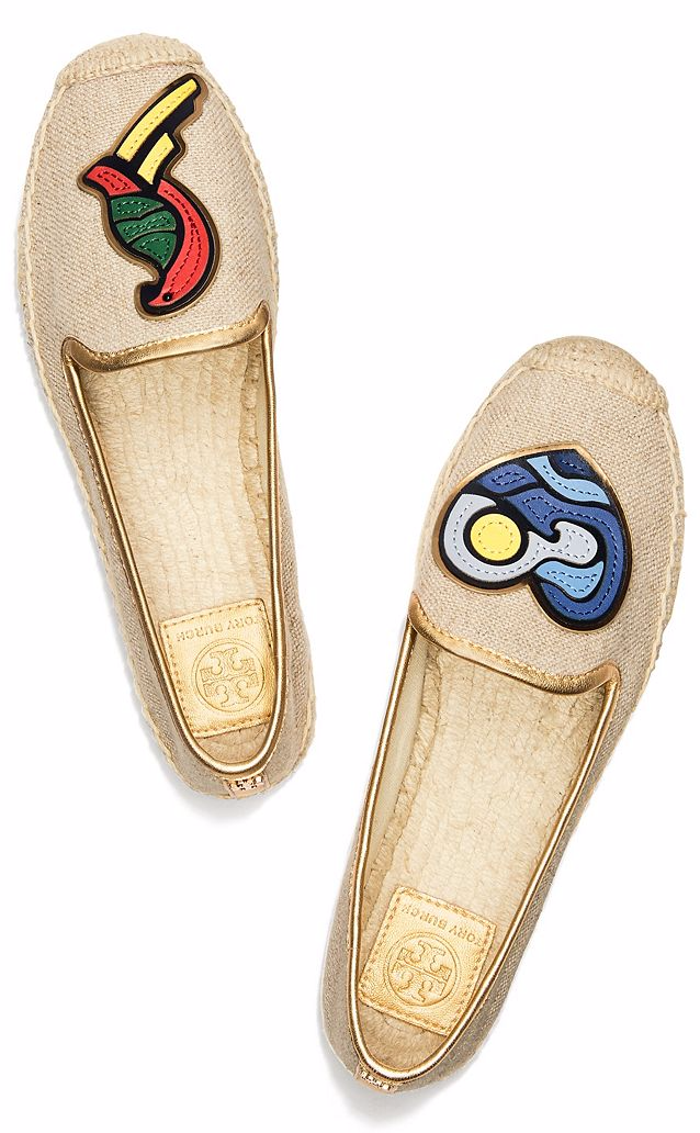 6ab666b744d Tory Burch Parrot Mismatched Espadrille | Beach Getaway | Shoes ...
