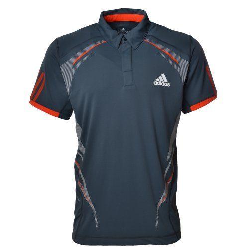 Shirt Polo Barricade Onix Adidas Tennis Top Dark Mens Traditional L5cqRj3A4