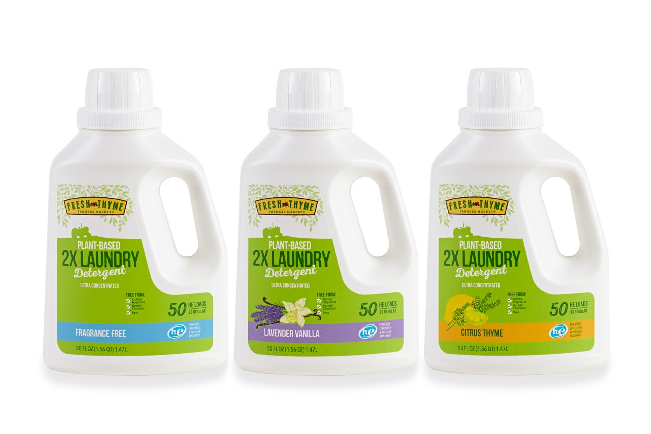 The Creative Pack Fresh Thyme Plant Based Household Cleaning