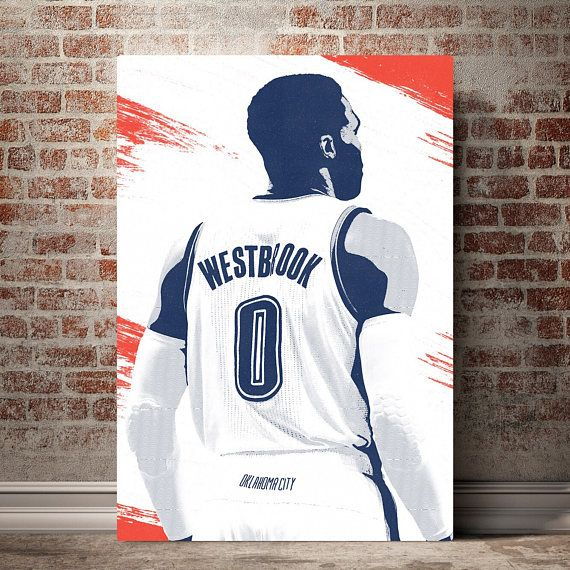 Best Russell Westbrook Canvas Print Russell Westbrook 400 x 300