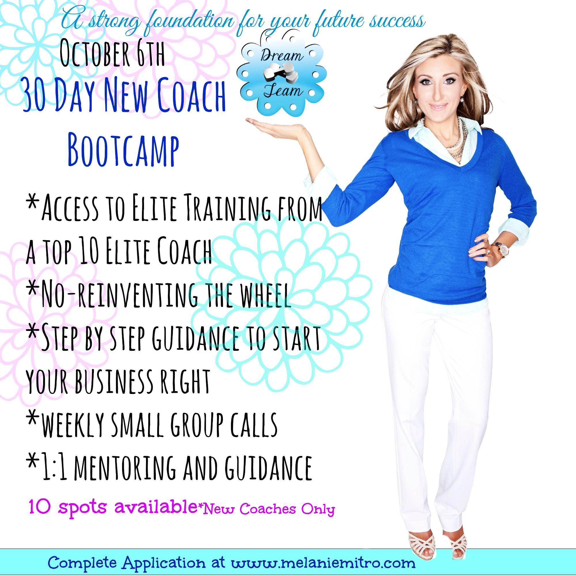 30 day accelerated new coach bootcamp by a top coach in team