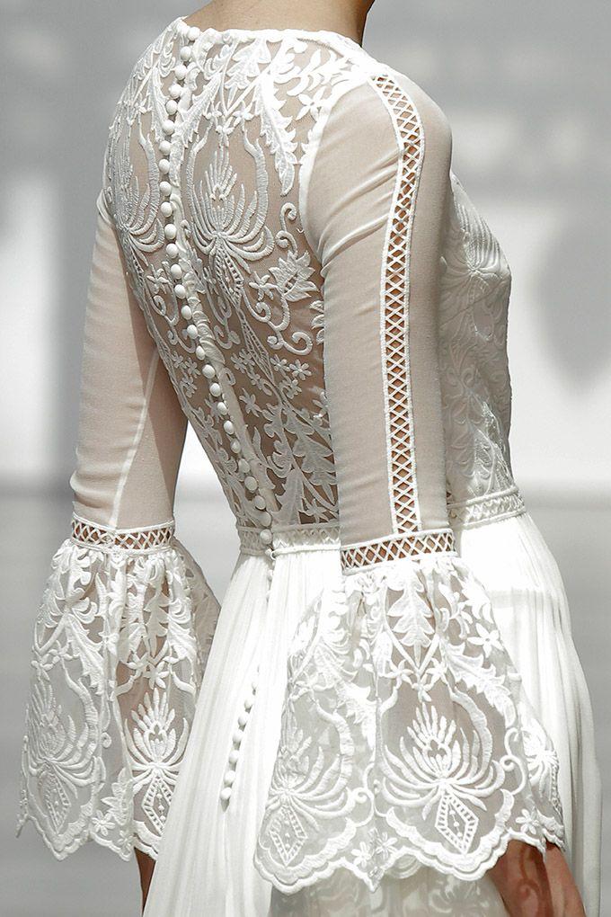 maravilla de vestido de novia de pol nuñez (colección 2018