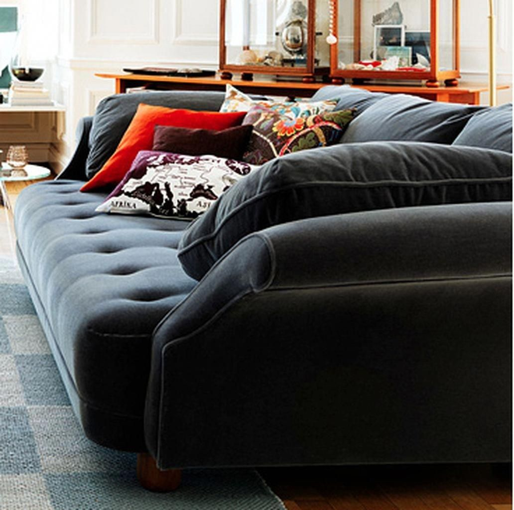 Deep Seated Sofa Sectional To Makes Your Room Get Luxury Touch 14
