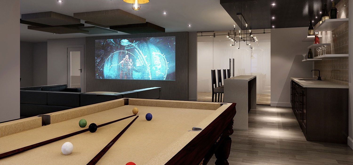 Home Bar Room Designs LIVING Pinterest Pool table Room ideas