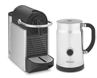 I Love The Nespresso Pixie Espresso Maker With Aeroccino Plus