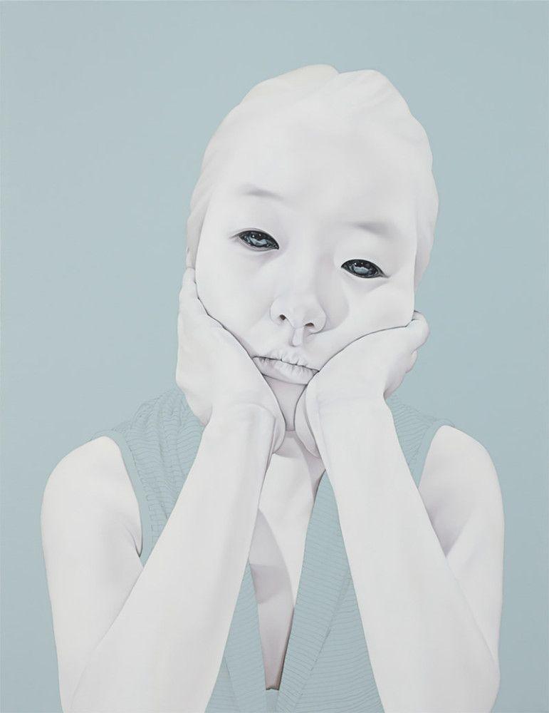 Melancholic Portraits by Sungsoo Kim | Inspiration Grid | Design Inspiration