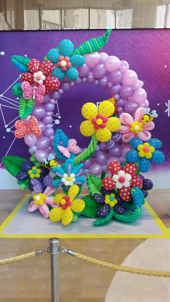 Marcos de globos para fotos   Birthdays and Birthday party ideas