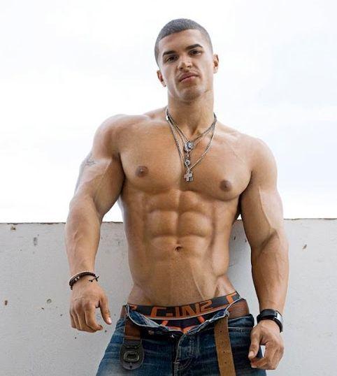 sexy Männer Pecs